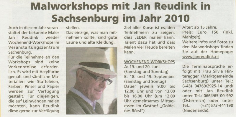 malworkshop sachsenburg 2010